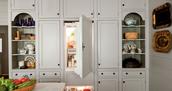 Kitchen - Refrigerator & Cabinets