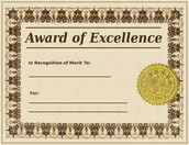 Excellence in Education Award Process 2015-2016