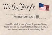 Third Amendment: Right to protect property
