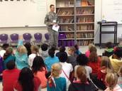 Veterans Day Speaker, Technical Sergeant Jackson!