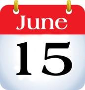 FAIR ENTRIES DUE JUNE 15