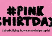 A pink Shirt Day campaign