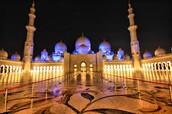 A very pretty mosque