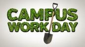 Campus Work Day - August 6