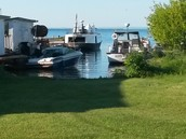 Relaxing in Bayfield, WI