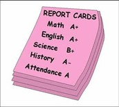 Report Cards - Thursday Folders