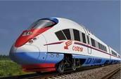 El primer tren de alta velocidad en Rusia