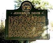 Jefferson's grave stone copy!