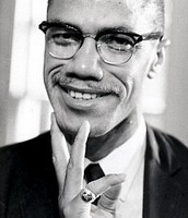Malcolm X as a adult