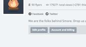 """2. Click """"Edit profile"""""""