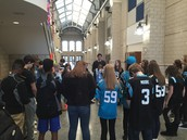 Panther Pride in Prayer with YCI!