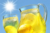 Our shop sells the best lemonade in town!