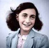 Why is it important that teens and young adults  relate to Anne Frank?