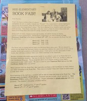 Don't Forget the Scholastic Book Fair!