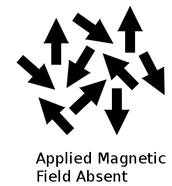 Unmagnetized Magnet Domains