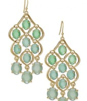 Hannah Chandelier earrings