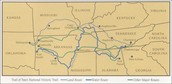 Trail of Tears Route