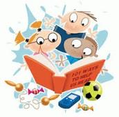 Reading Olympics . . .