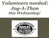 Volunteers Need for Jog-A-Thon