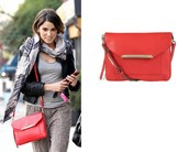 Nikki Reed - Twilight Tia Crossbody Bag in Cerise