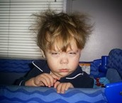 Me despierto.