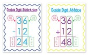 Math- 2 Digit addition & subtraction
