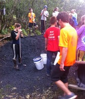 Homer Mariners helping to build new trails in Kodiak.