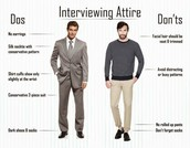 Men do and dont wear