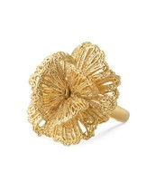 Geneve Lace Ring - Gold (adjustable size)