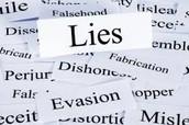 Who lies?