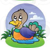 A picture of the duck