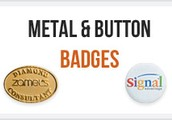 Look for the perfect quality button badges