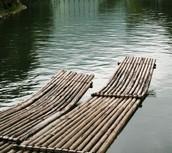 Jim and Huck's Raft