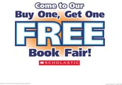 Our fall book fair is just around the corner!