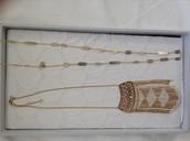 Avalon station necklace, Avalon fringe