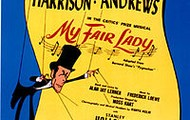 Broadway poster for My Fair Lady