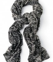 Union Square Scarf, painted zebra £15