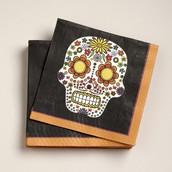 Paper Candy Skull Napkins