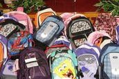 Need a Backpack? Local backpack drive may be able to help!