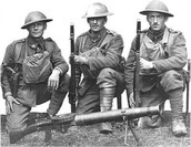 Soldiers in WW1