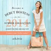 Become a Debut Summer Hostess!