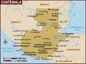 La Mapa de Guatemala