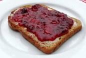 Brood met jam