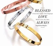 Blessed Bangles- in your choice of metals