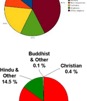 Ethnicity Graph and Religion Graphs.