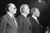 Menachem Begin, Jimmy Carter, and Anwar El Sadat