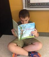 Enjoying a folktale!