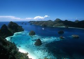 Indonesia' Beautiful Water