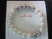Maisie Pearl Bracelet  - Ivory
