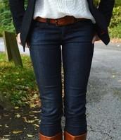Pantalones vaqueros azul